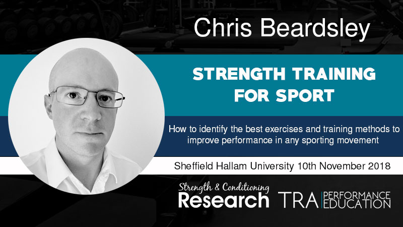 Chris Beardsley Strength Seminar