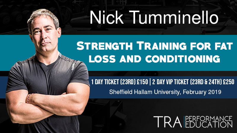 Nick Tumminello: Strength Training for Fat Loss and Conditioning